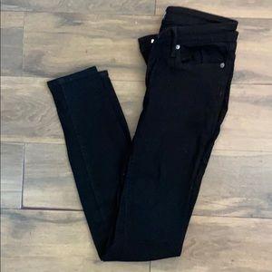 Gap Factory Black Legging Jeans